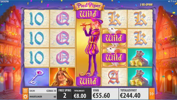 Pied Piper free spins