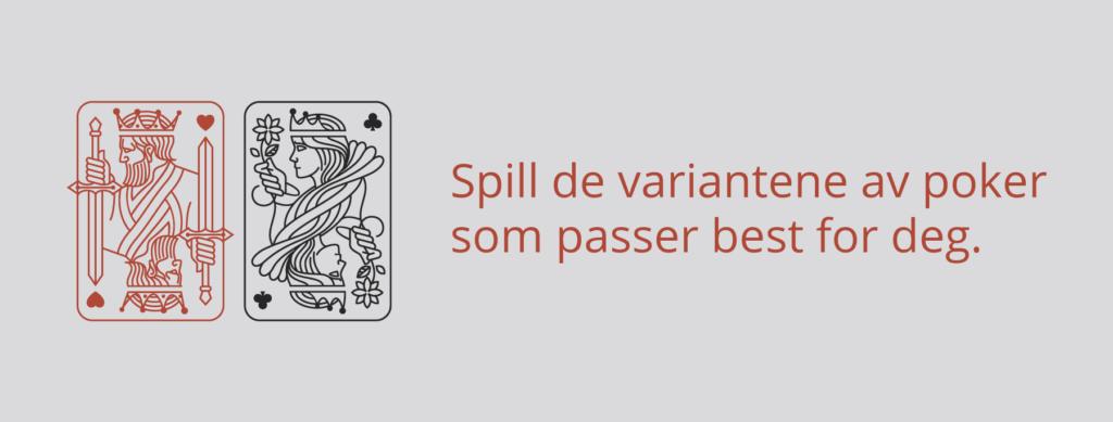 Poker varianter