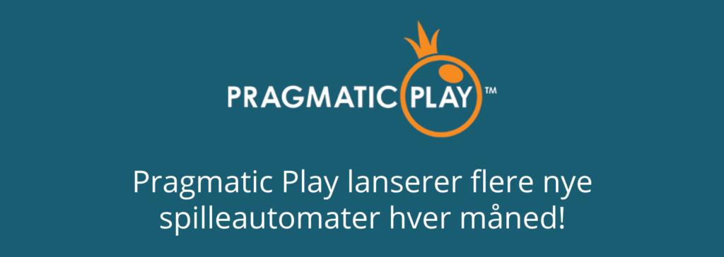 Pragmatic Play lanserer flere nye spilleautomater hver måned