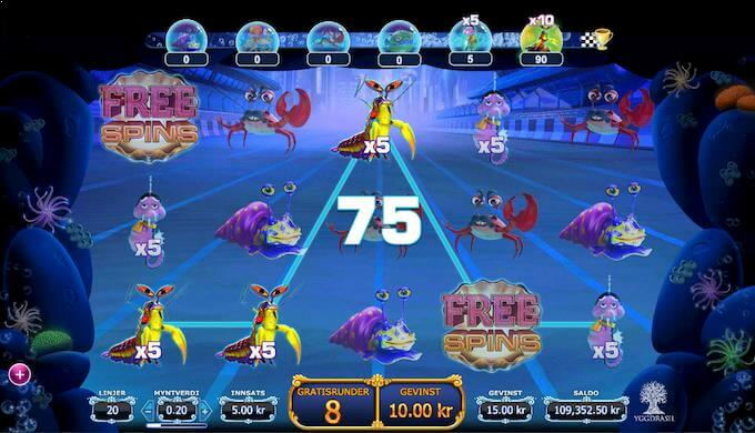 Reef Run free spins