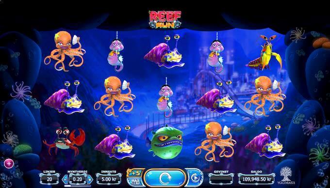 Reef Run hovedspill