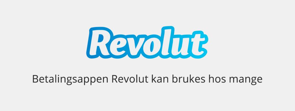 Revolut kan brukes hos mange nettcasinoer