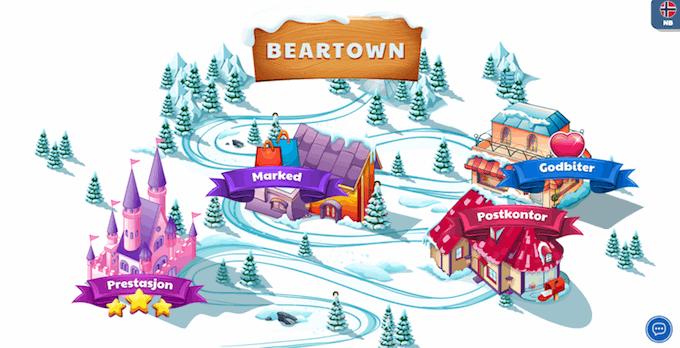 Ridika har et spilleventyr i Beartown der du kan skaffe deg ekstra belønninger