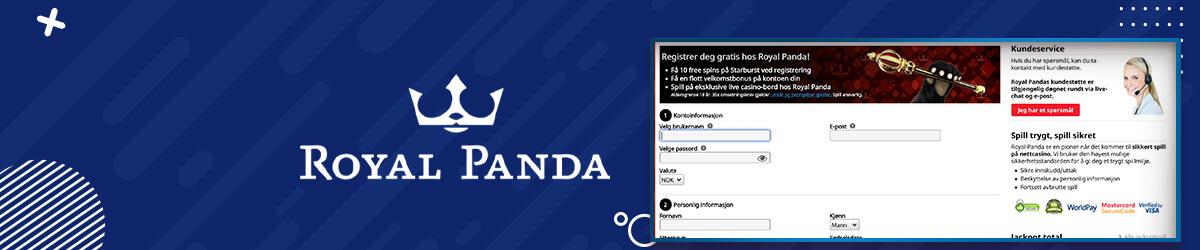 Royal Panda registrering