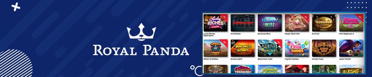 Royal Panda spilleautomater