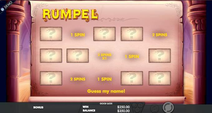 Rumpel Thrill Spins bonusspill med free spins