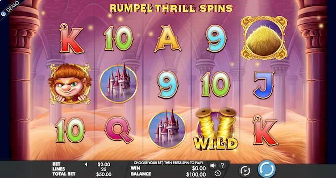 Spilleautomaten Rumpel Thrill Spins