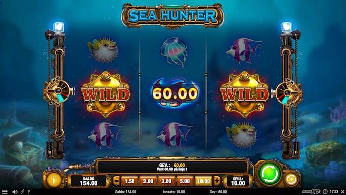 Sea Hunter kanonfunksjon