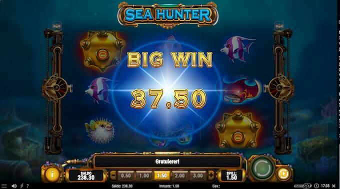 Sea Hunter storgevinst