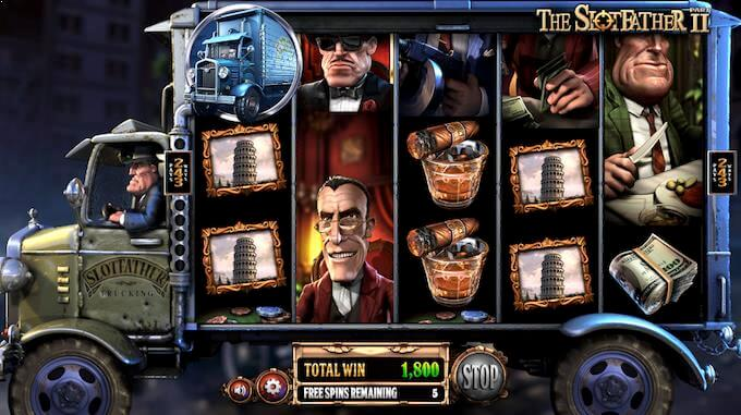 The Slotfather Part 2 free spins