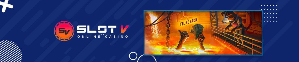 SlotV Casino-VIP med cashback
