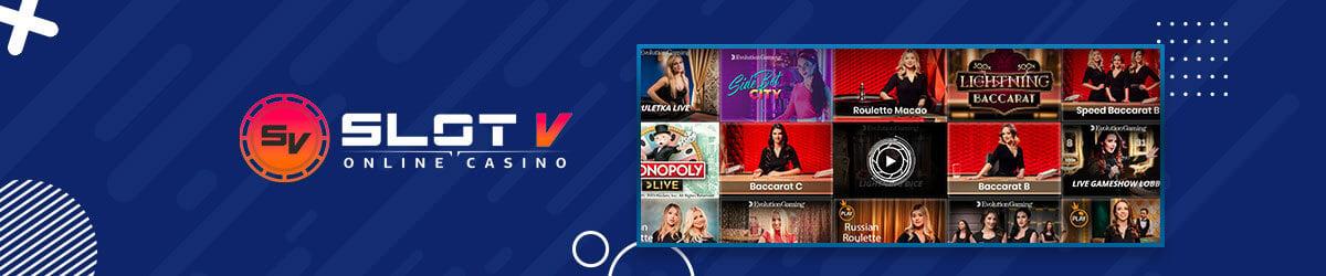 SlotV Casino - Live Casino