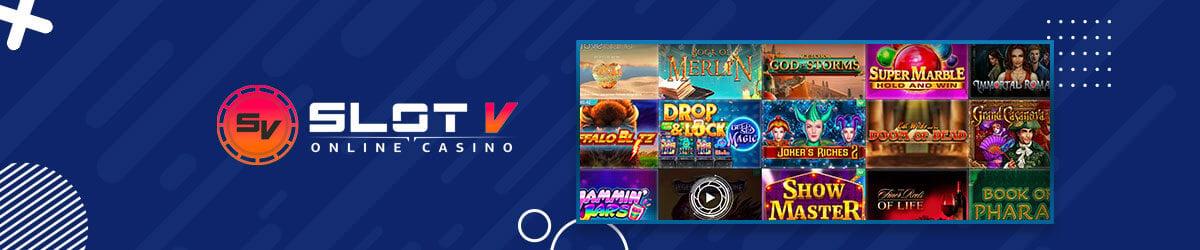 SlotV Casino spilleautomater