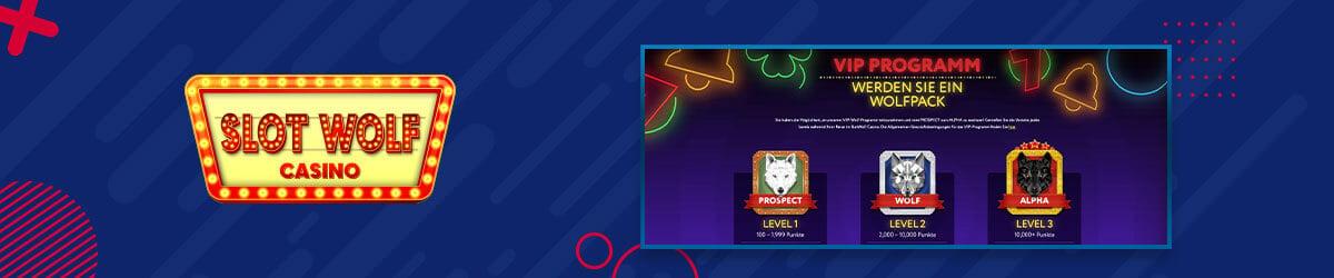 Slotwolf Casino VIP