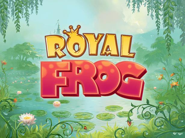 Spill spilleautomaten Royal Frog fra Quickspin hos Betsson