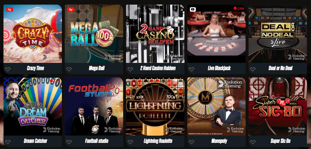Spin Rider - Live Casino