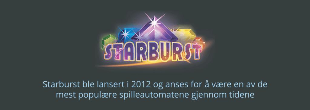 Starburst er en populær spilleautomat