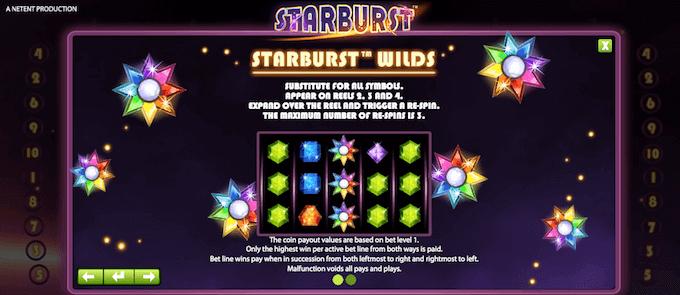 Starburst re-spinn