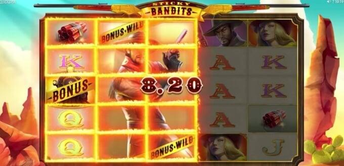 Bonussymbolet på Sticky Bandits