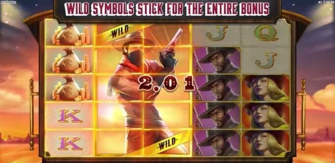 Sticky Bandits free spins