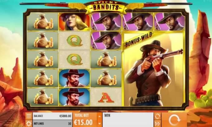 Sticky Bandits hovedspill