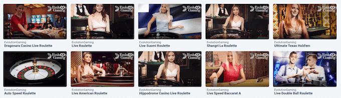 Svenplay live casino