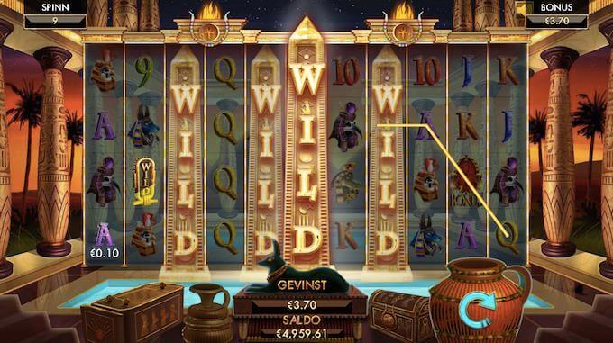 Temple of Luxor bonusspill