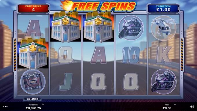Free spins på spilleautomaten The Heat is On