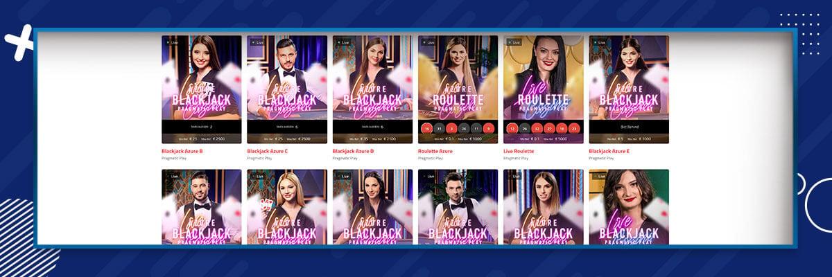 UltraCasino - Live Casino