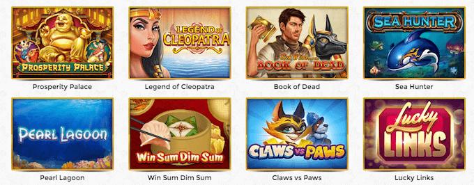 Unique Casino spilleautomater