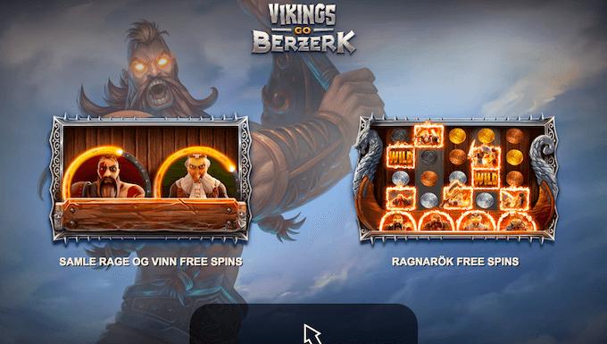 Spilleautomaten Vikings Go Berzerk informasjon