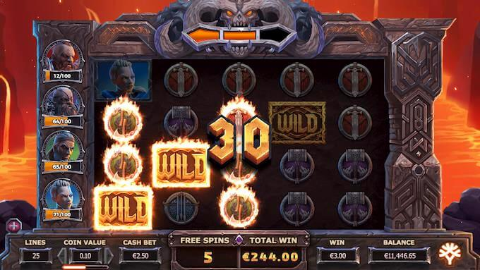 Vikings Go to Hell - Level 2 free spins