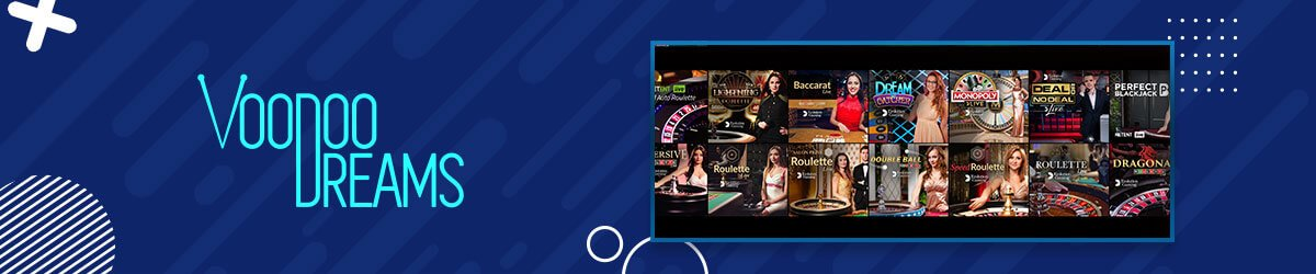 VoodooDreams Casino - Live Casino