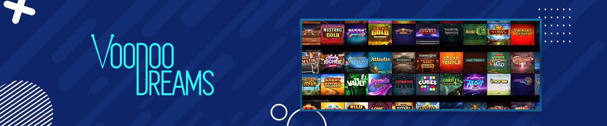 VoodooDreams Casino spilleautomater