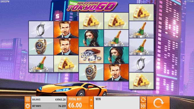 Wild Chase: Tokyo Go hovedspill